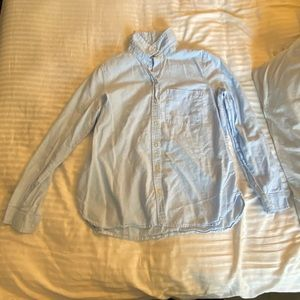 Old Navy Light Blue Long Sleeve Button Down Shirt